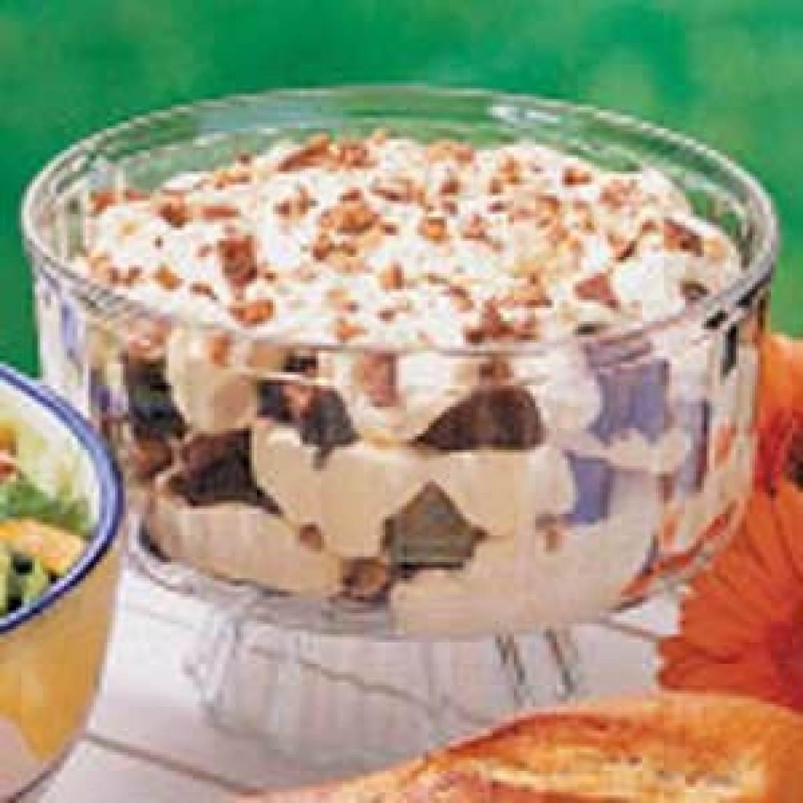 Brownie Mocha Trifle Recipe