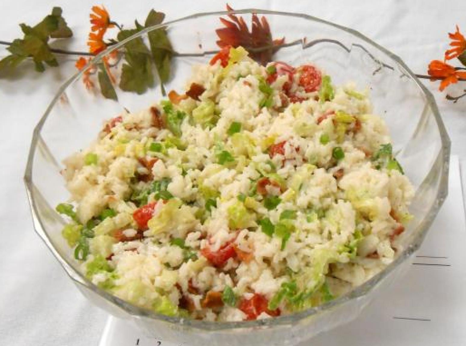 Rick's BLT Rice Salad Recipe