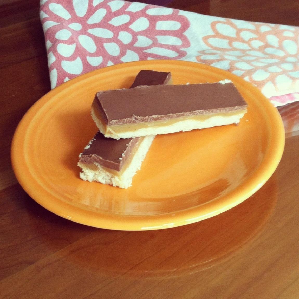 Twix Bar Cookies Recipe