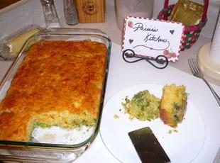 Broccoli Chedder Cornbread