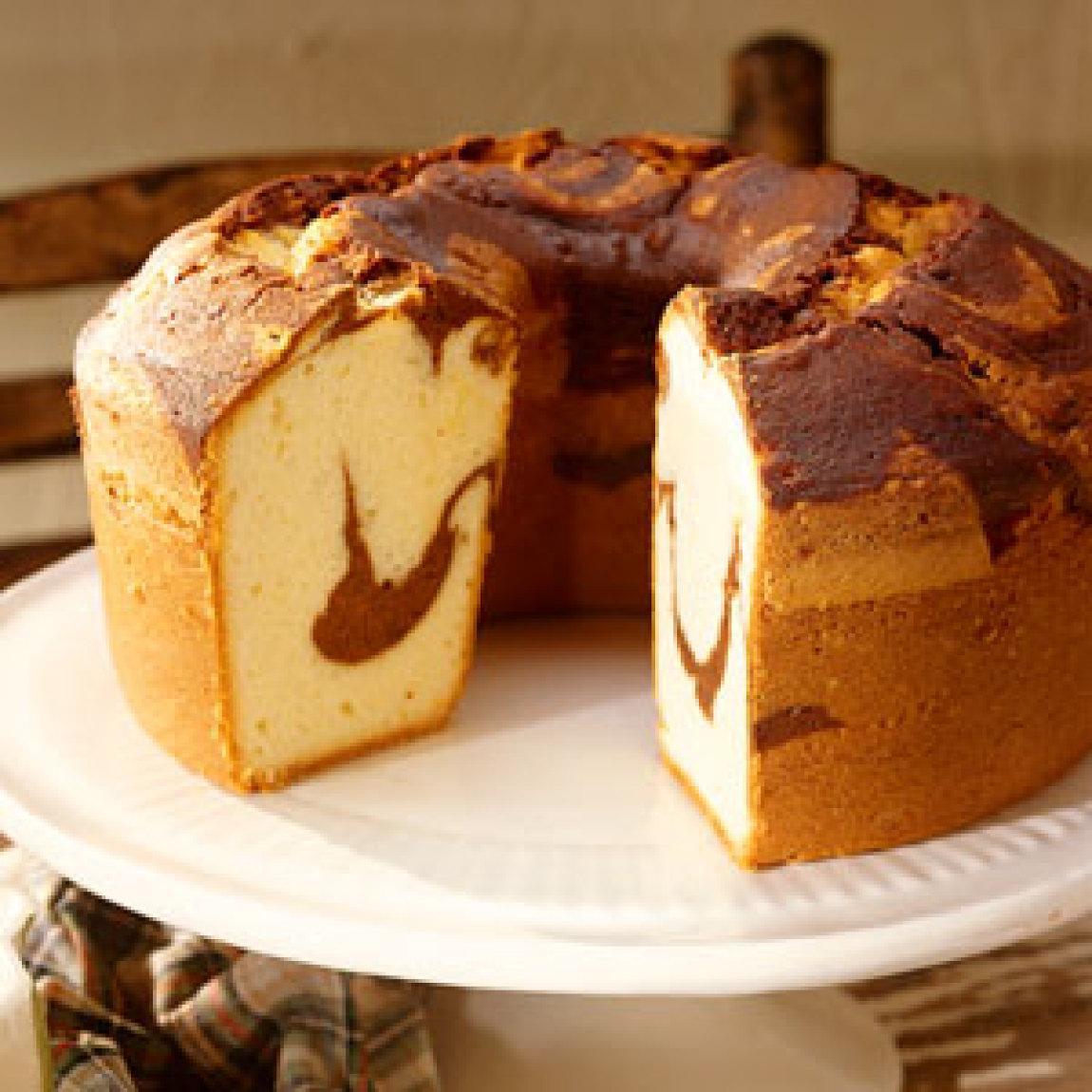 Box Chocolate Pound Cake