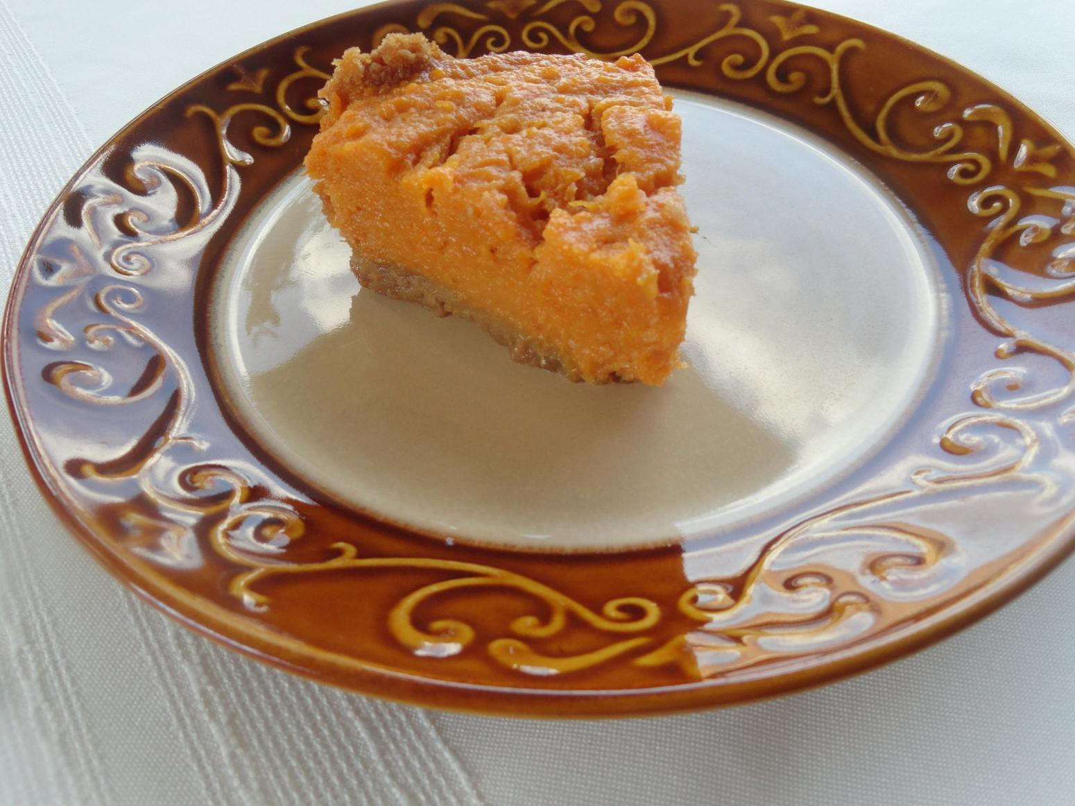 Mellina's Eggnog Sweet Potato Pie Recipe