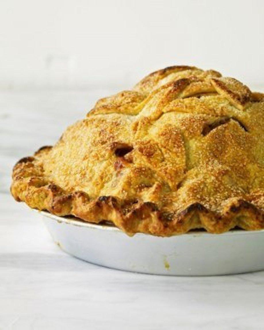 Mile High Apple Pie by~Martha Stewart Recipe