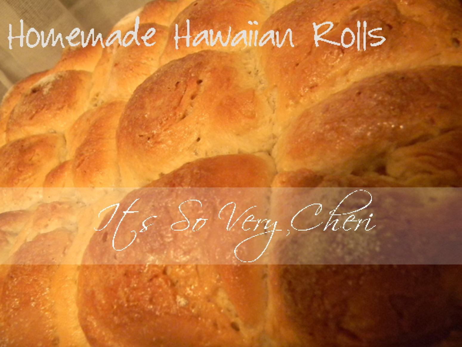 HOMEMADE HAWAIIAN ROLLS Recipe