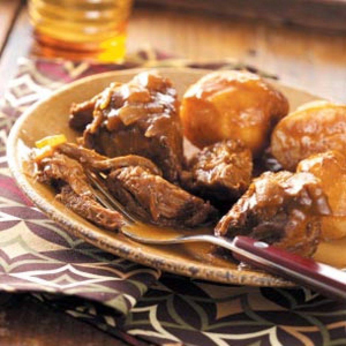 SweetandSour Pot Roast Recipe | Just A Pinch Recipes