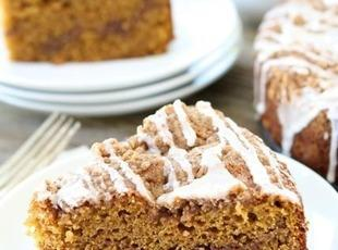 Wonderful Pumpkin Coffee Cake Recipe