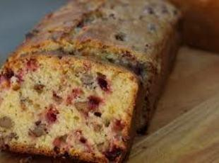 HOLIDAY CRANBERRY NUT BREAD Recipe