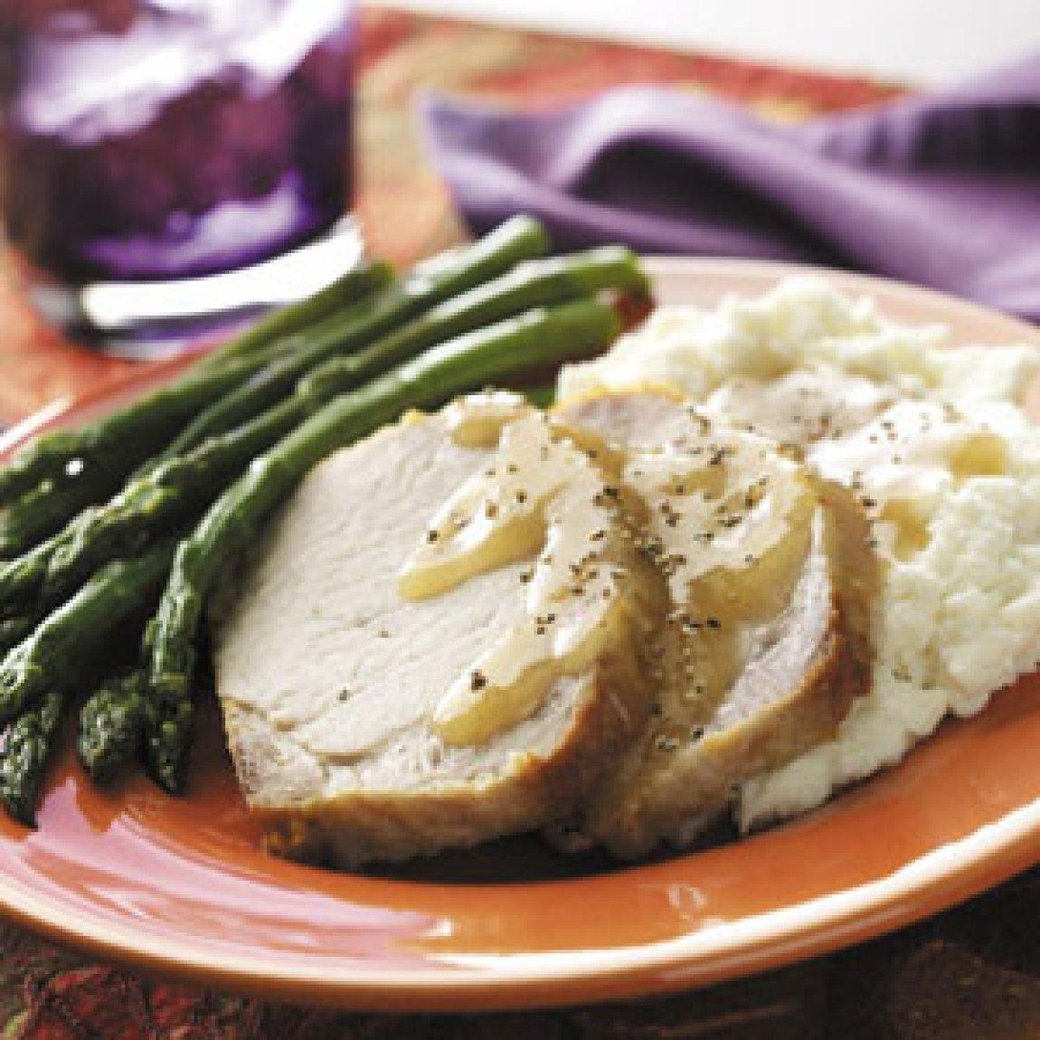 CountryStyle Pork Loin Recipe | Just A Pinch Recipes
