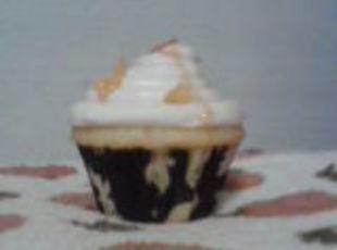 Little Boo's~Bacon Butterscotch mini cupcakes Recipe