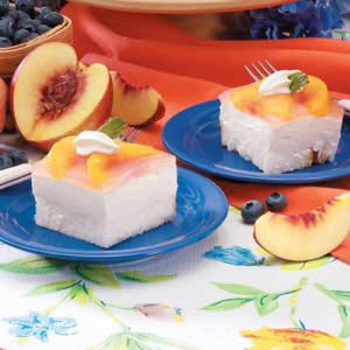 Peach Angel Dessert Recipe