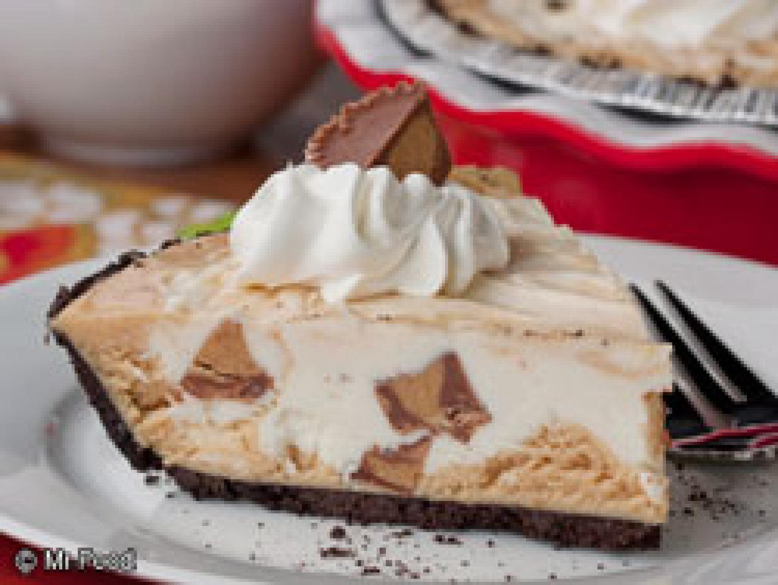 Secret Peanut Butter Cup Pie Recipe | Just A Pinch Recipes