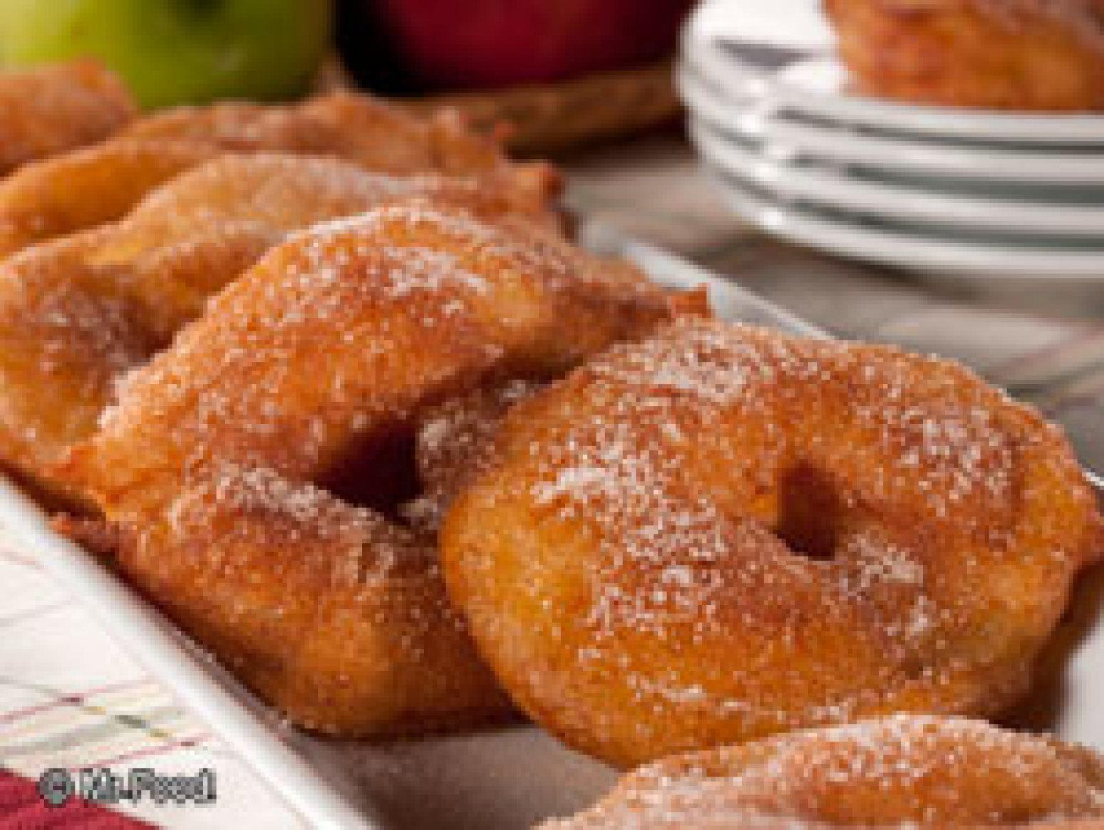 Crispy Apple Rings Recipe | Just A Pinch Recipes