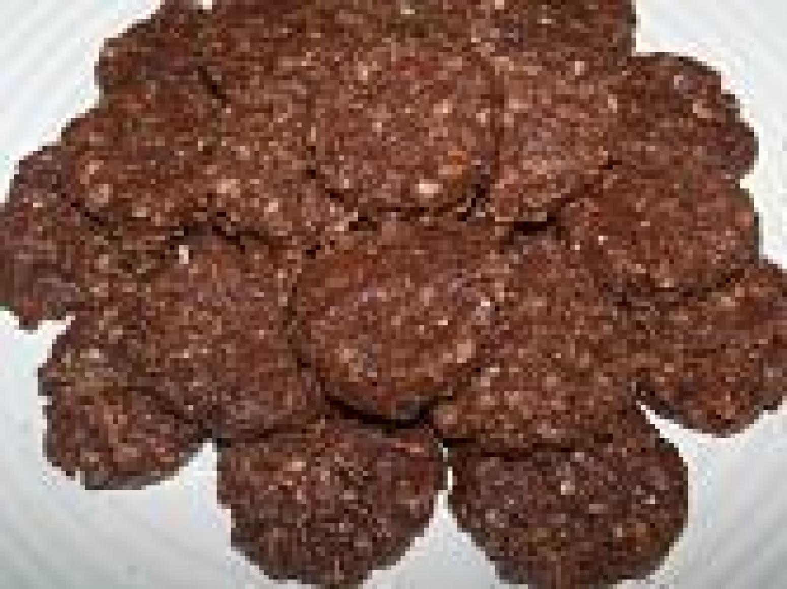 Mocha Cappuccino Hazelnut No Bake Cookies-Annette Recipe