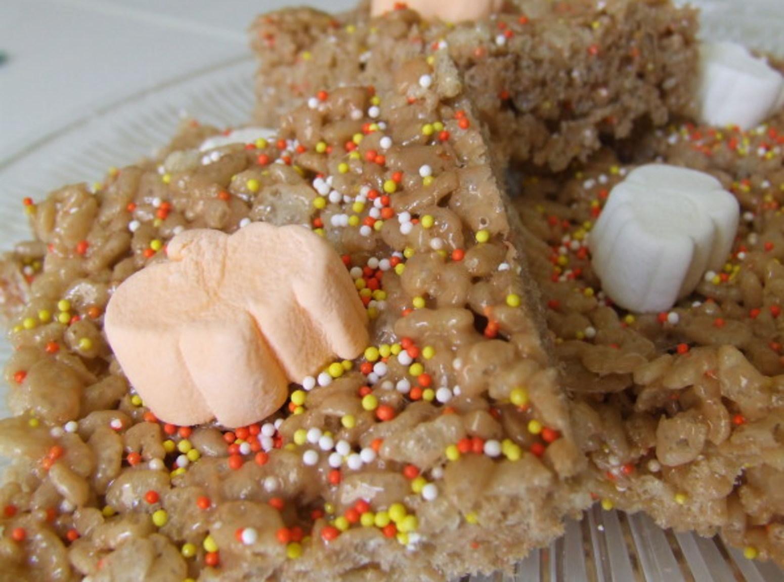 Halloween Rice Krispie Treats Recipe