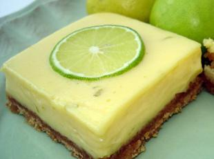 Creamy Lime Bars Recipe