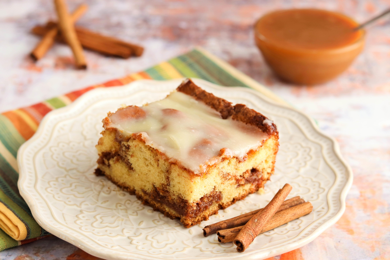Arlene's Caramel & Streusel  Coffee Cake Recipe