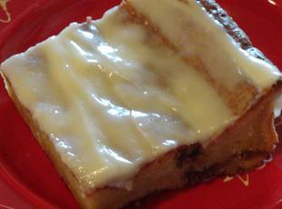 Arlene's Caramel & Streusel  Coffee Cake