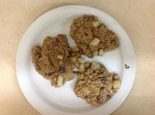 Oatmeal Pear Chocolate Chip Cookies Recipe
