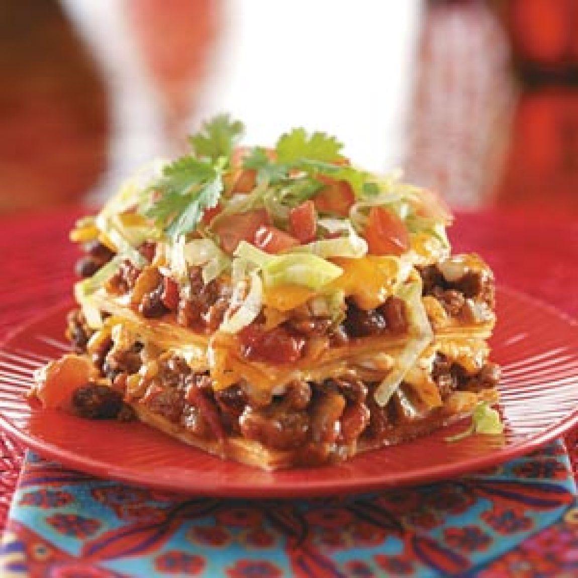 Enchilada Casser-Ole! Recipe | Just A Pinch Recipes