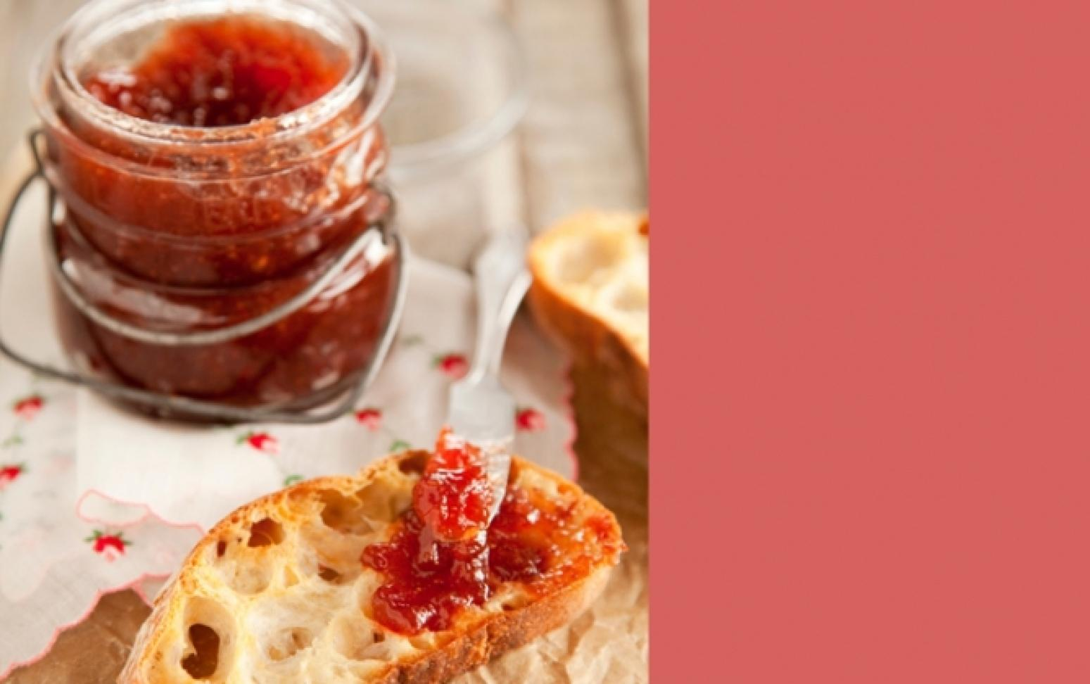 Strawberry Balsamic Jam Recipe | Just A Pinch Recipes