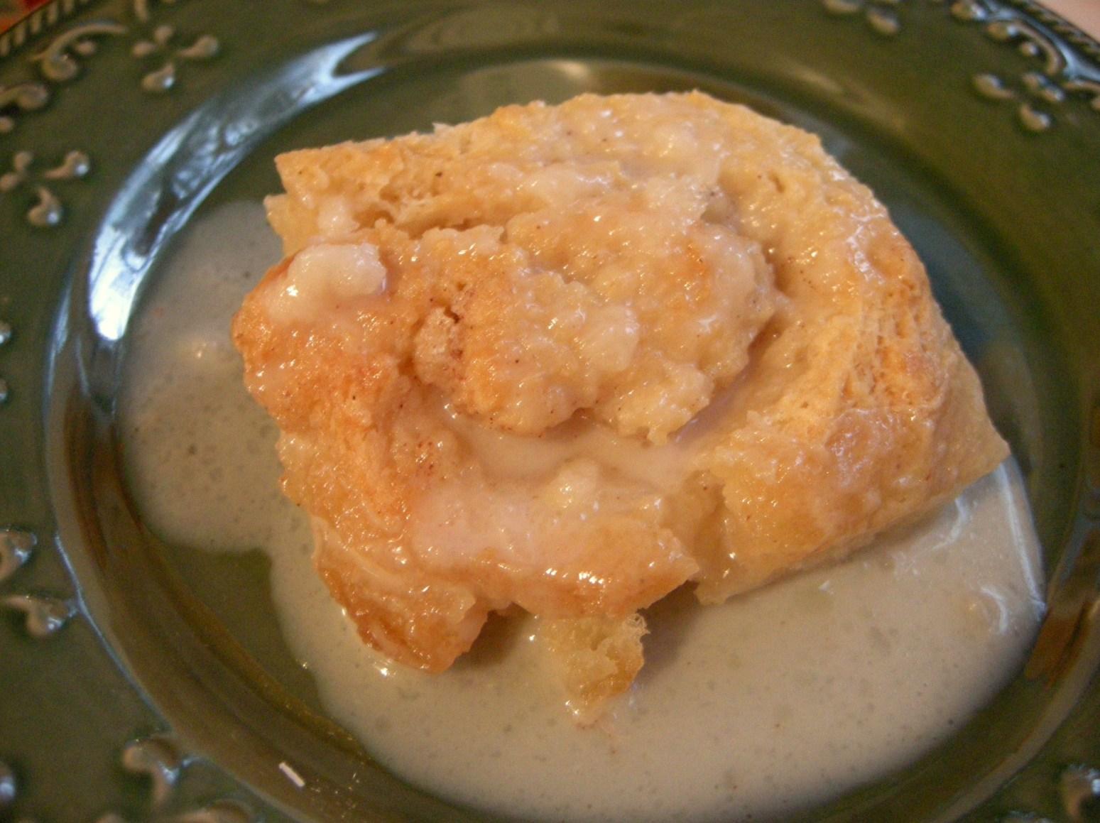 Old Timey Butter Roll Dessert Recipe