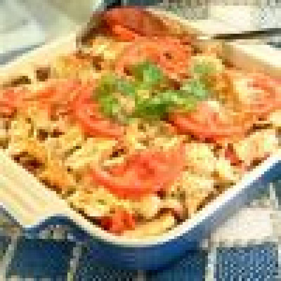 Beef nacho casserole recipe 5 just a pinch recipes for Jack in the box fish and chips