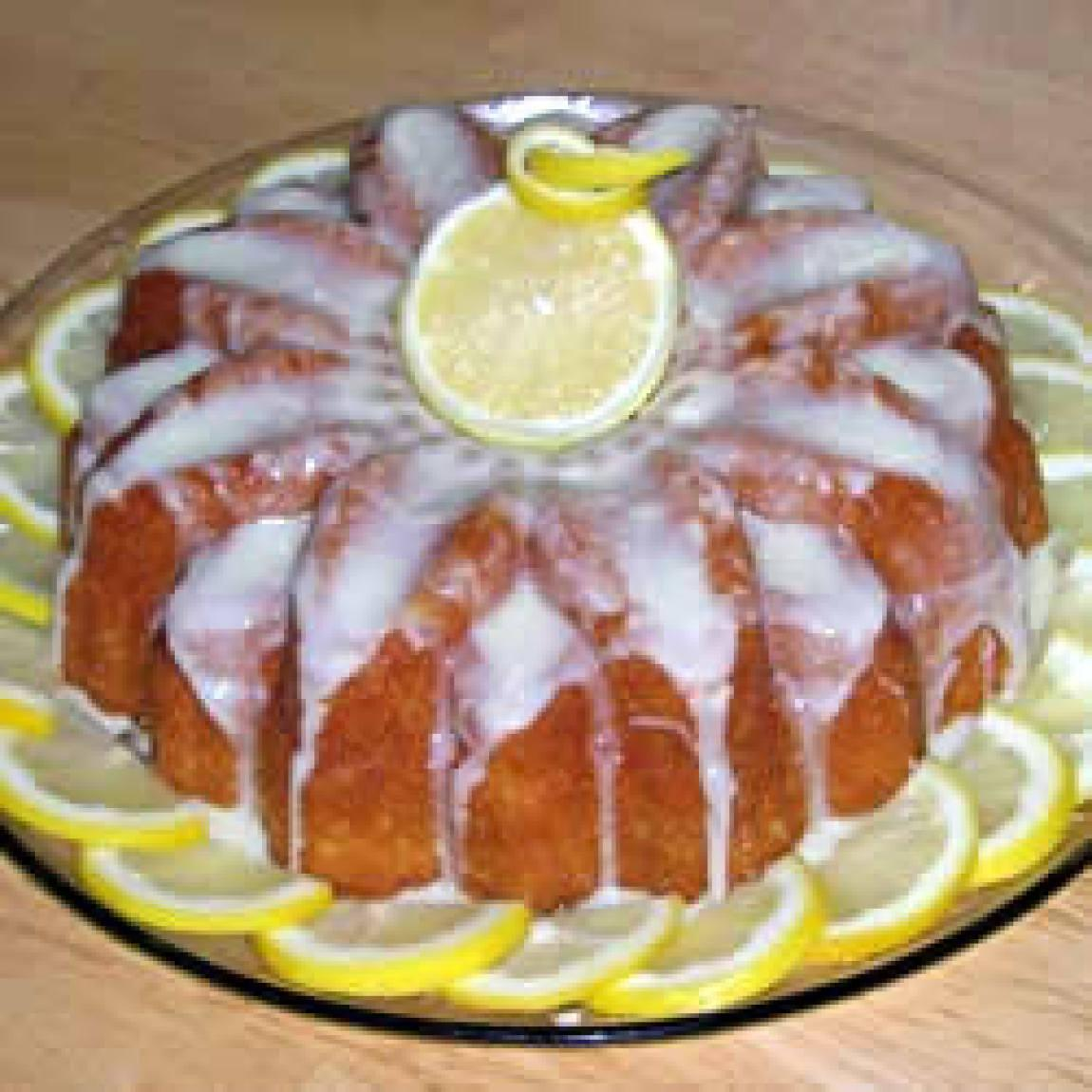 Easy Lemon Cake Recipe 2 | Just A Pinch Recipes