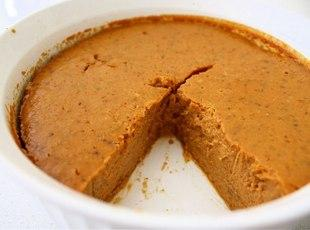 Crustless Pumpkin Pie Recipe