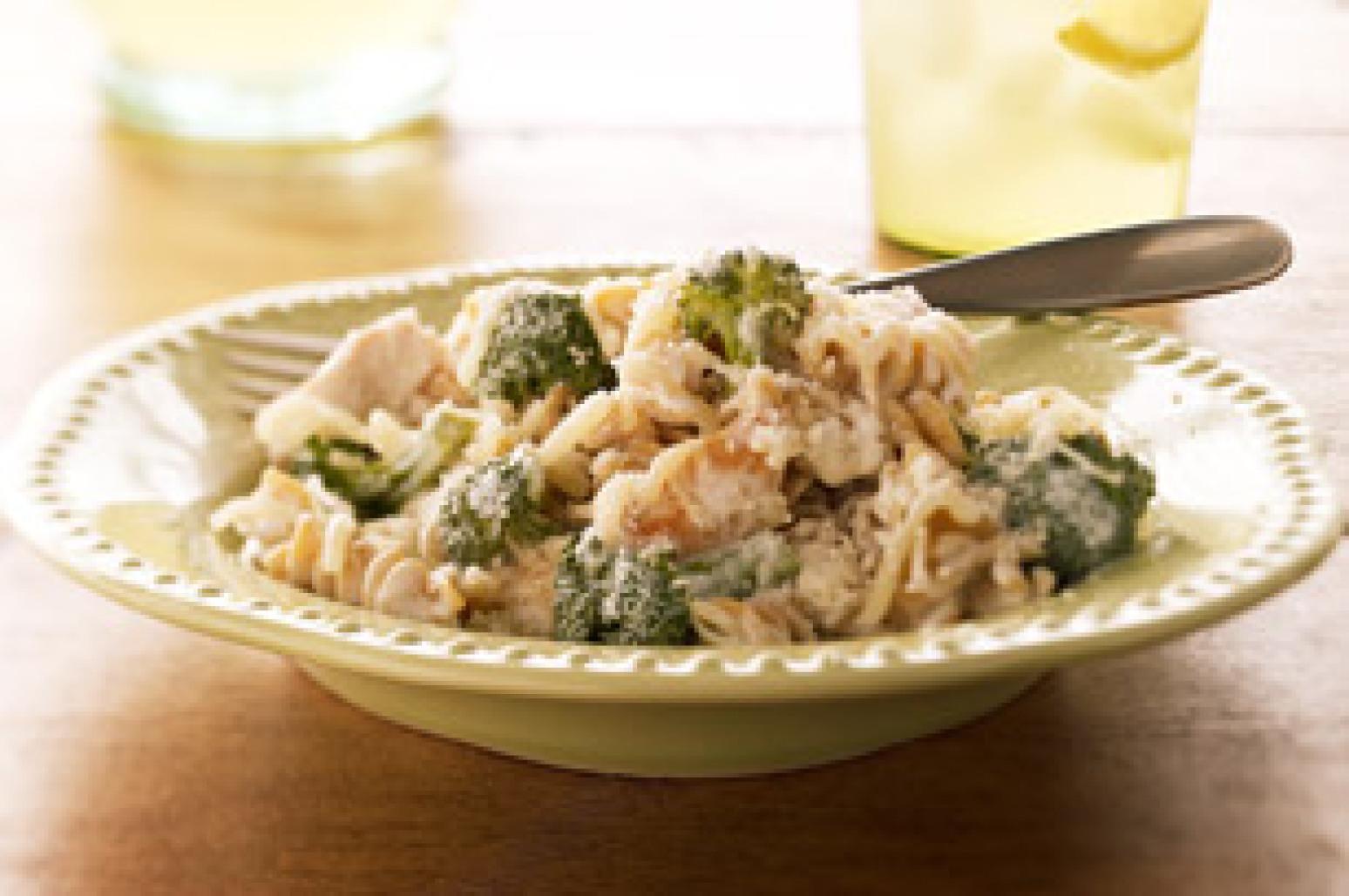 Creamy Chicken & Pasta Bake Recipe   Just A Pinch Recipes