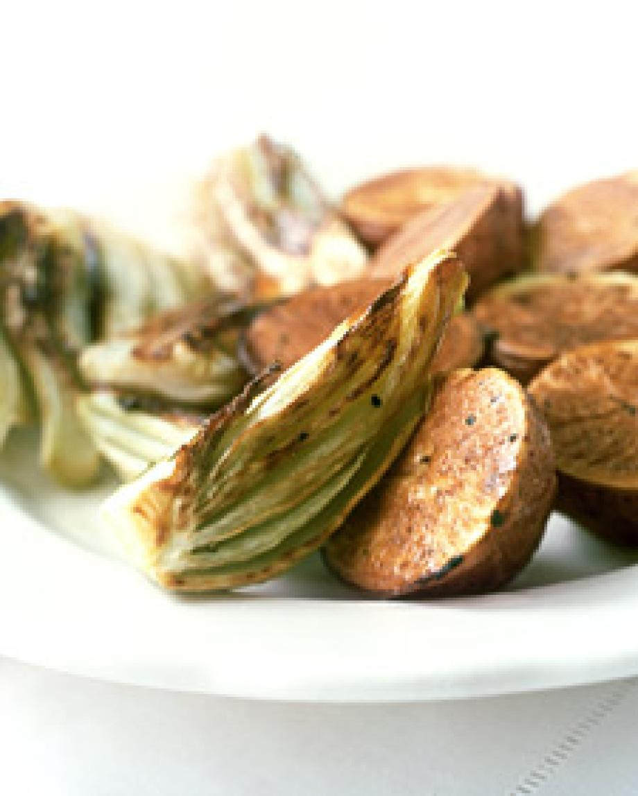 Roasted Fennel and Potatoes Recipe | Just A Pinch Recipes