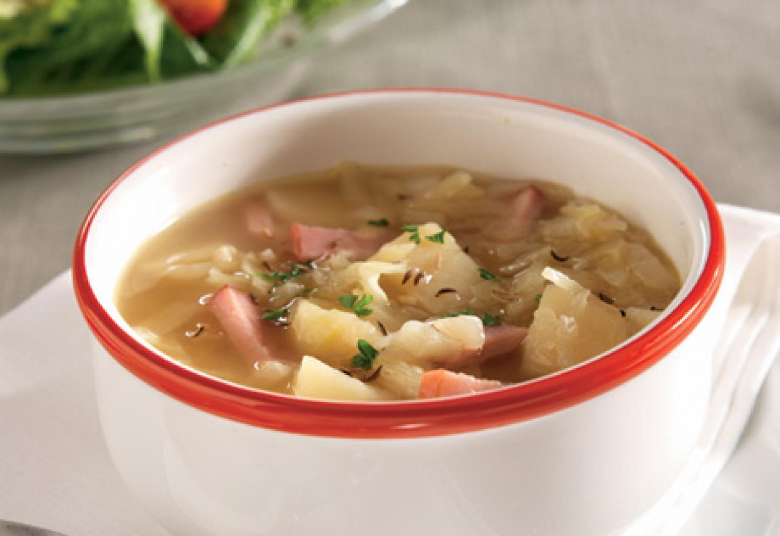 Campbell S Kitchen Ham Potato Amp Cabbage Soup Recipe