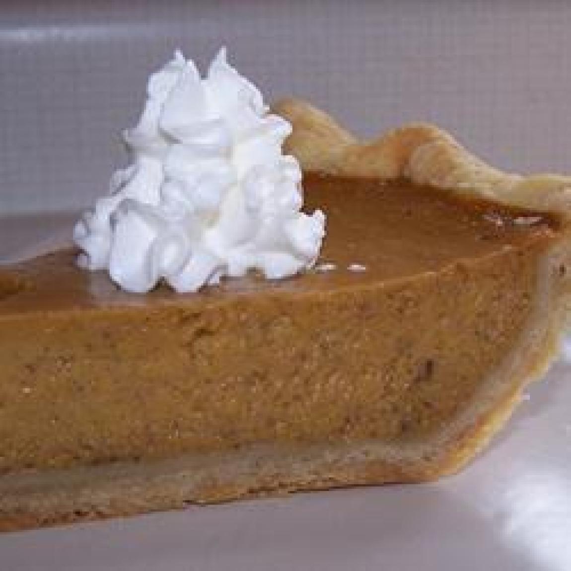 Mrs Sigg 39 S Fresh Pumpkin Pie Recipe Just A Pinch Recipes