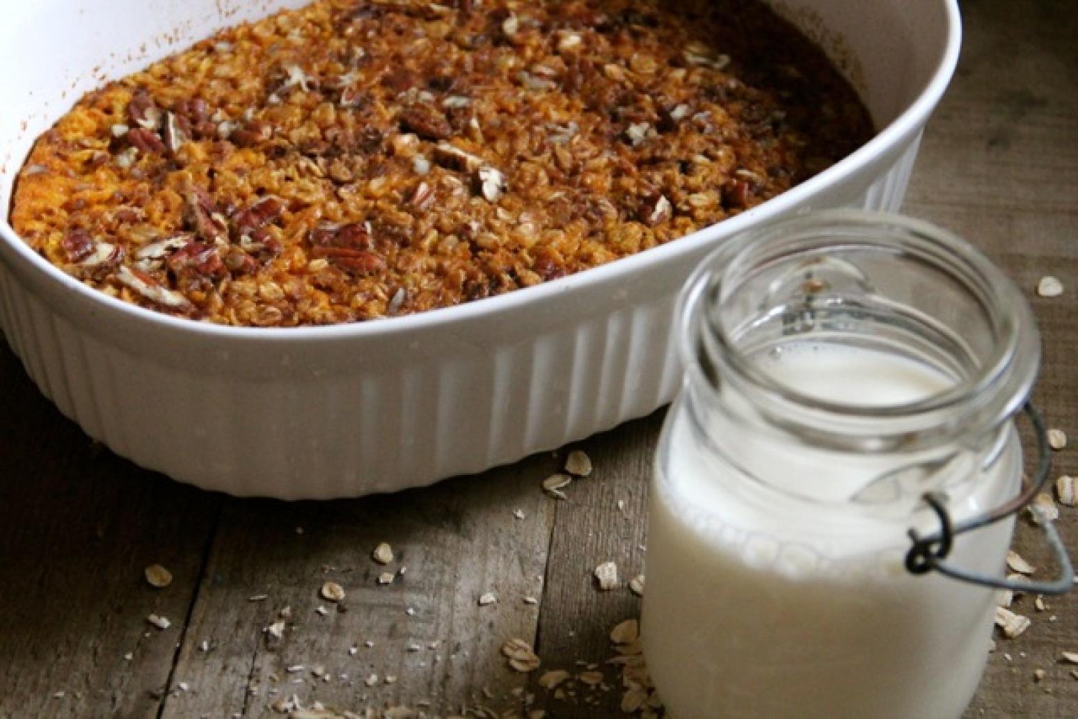 Pumpkin Pecan Baked Oatmeal - Alaska from Scratch Recipe | Just A ...