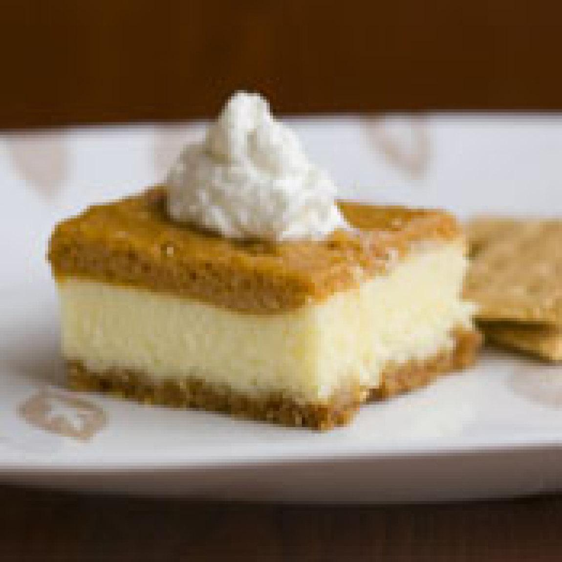 Pumpkin Cheesecake Squares Recipe 3 | Just A Pinch Recipes