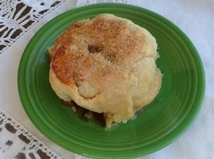Cider Basted Apple Dumplings Recipe