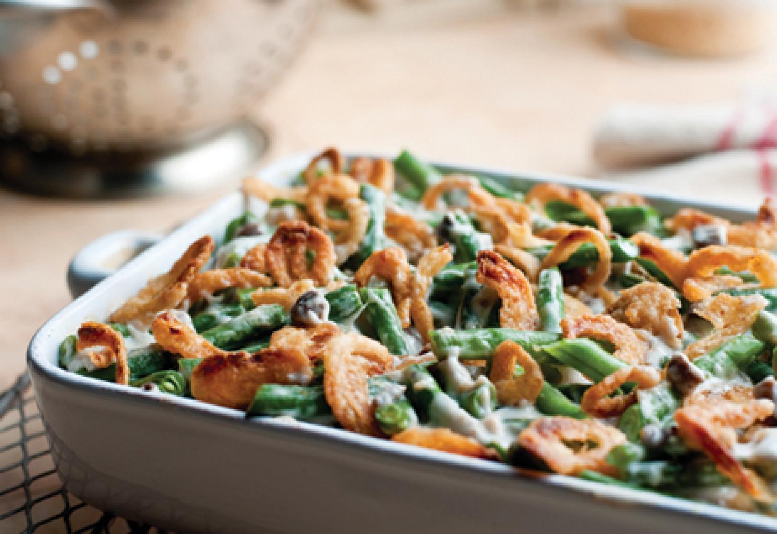 Campbell s Kitchen Green Bean Casserole Recipe