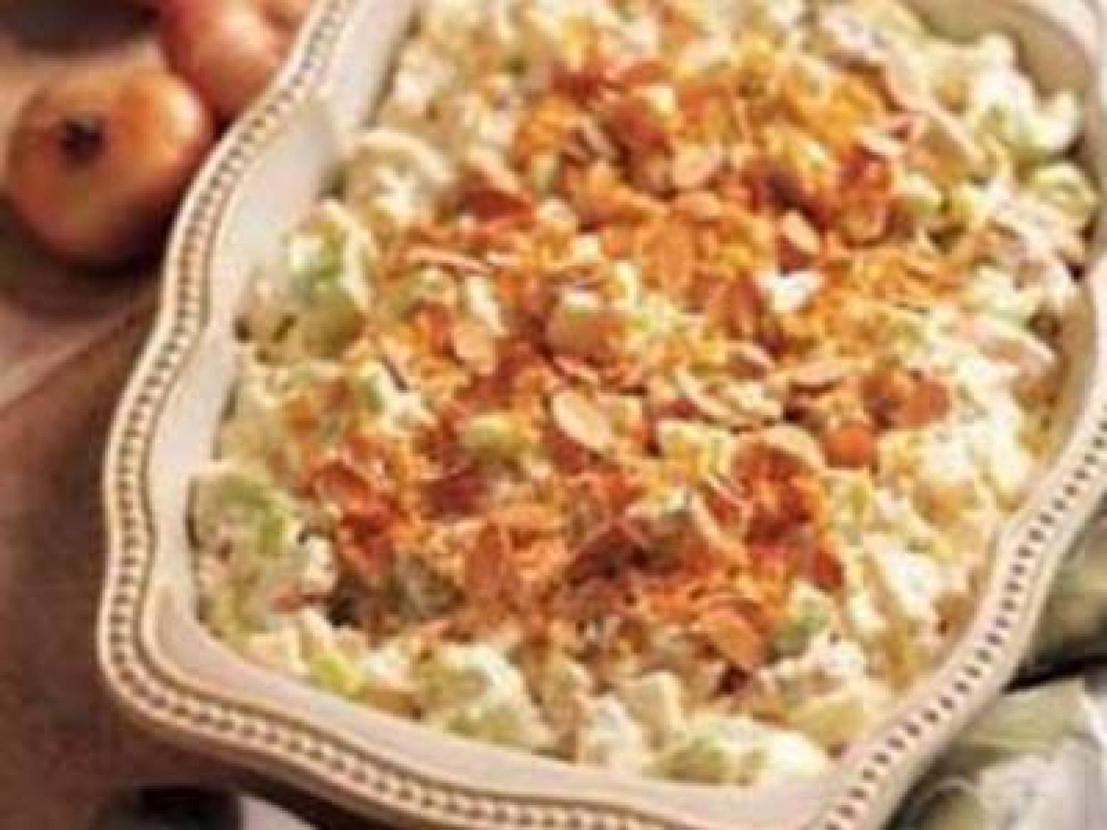 Chicken Almond Casserole Recipe | Just A Pinch Recipes