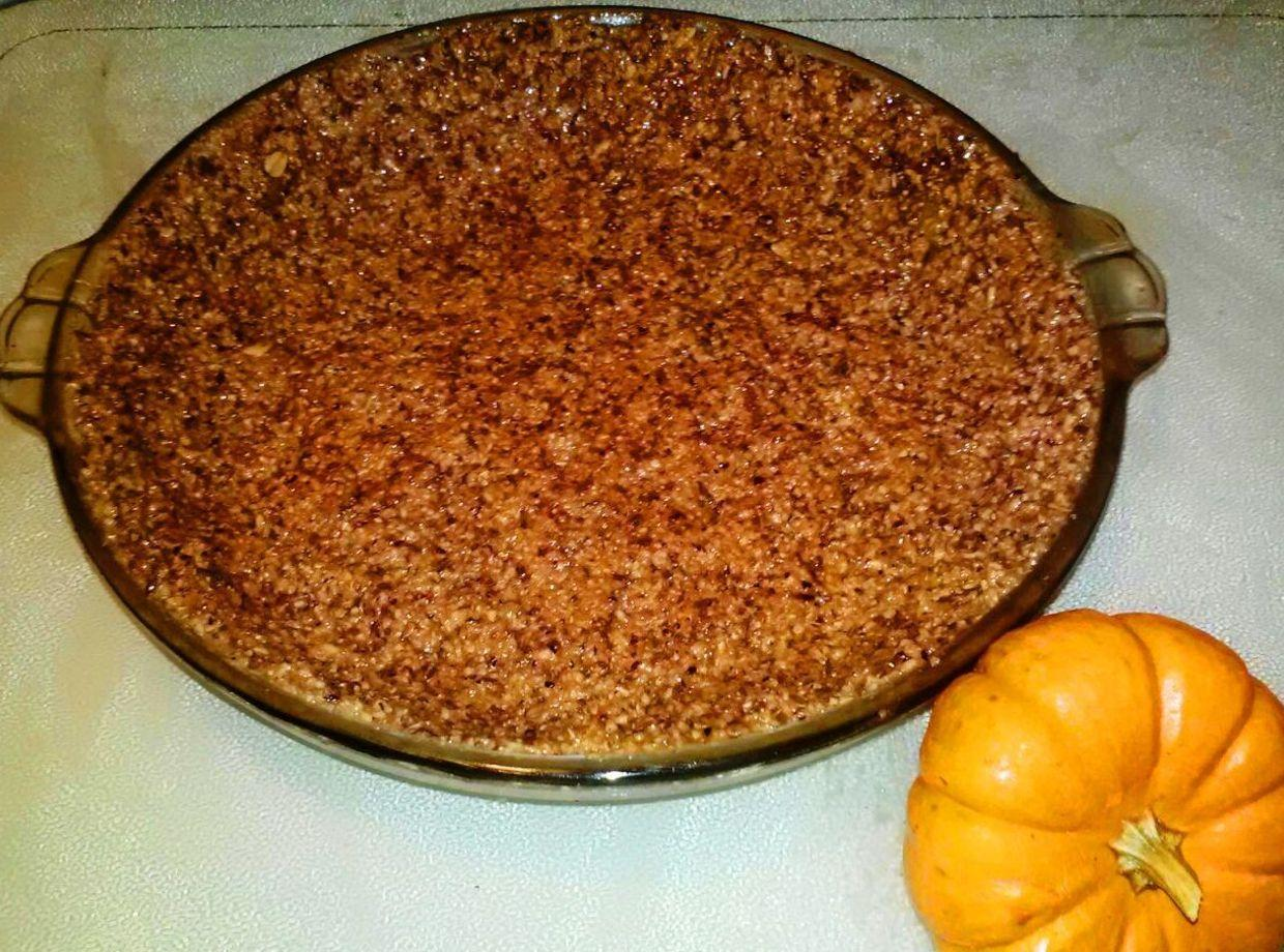 Candied Walnut and Cranberry Spice Pie Crust Recipe | Just A Pinch ...