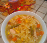 Next day Turkey Noodle Soup Recipe