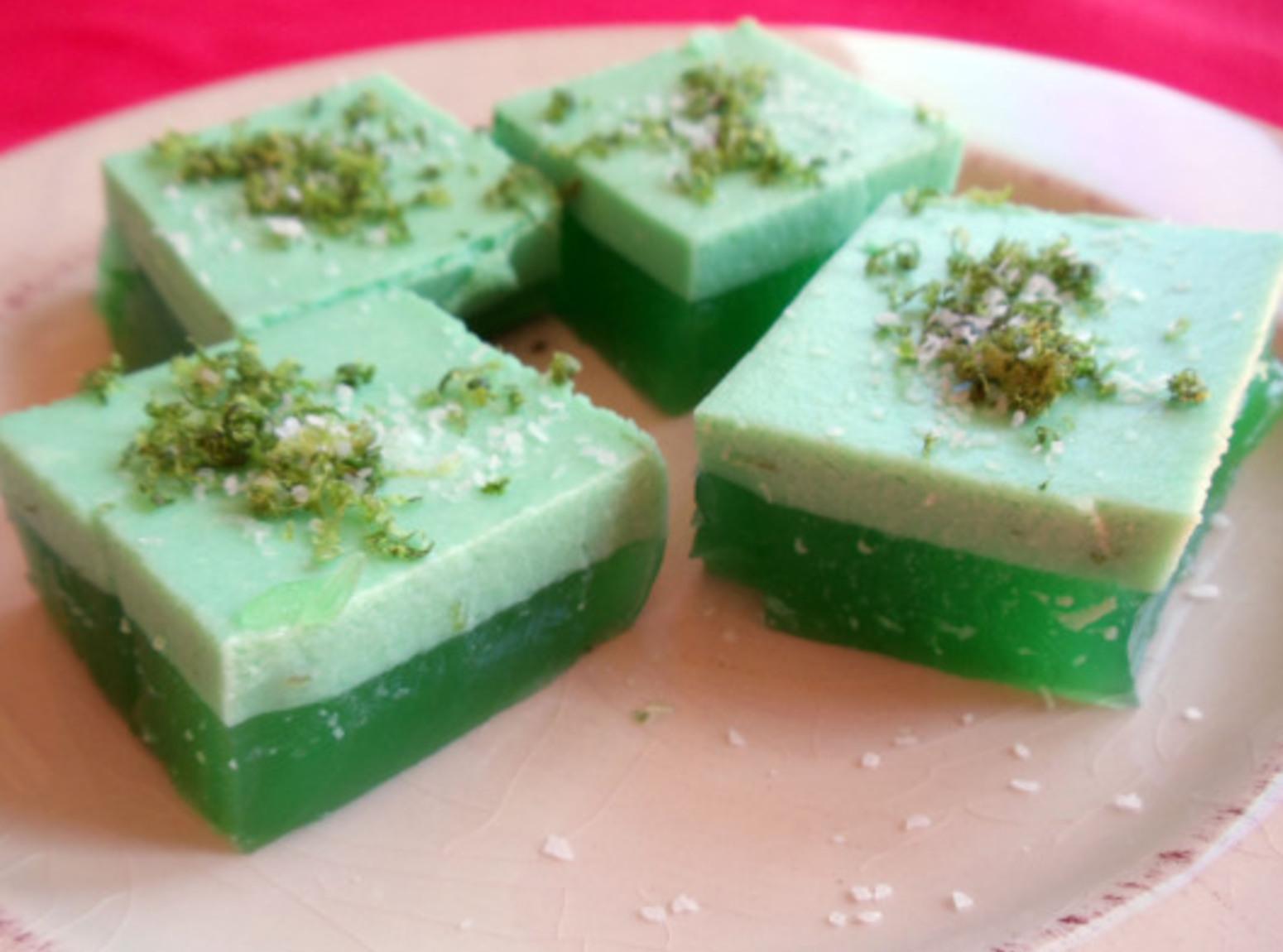 Jell-O Layered Margarita Bites Recipe