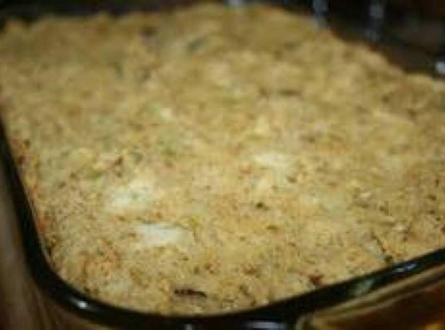 Grandma's Cornbread Dressing Recipe