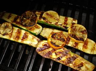 Grilled Lemon Zucchini Recipe