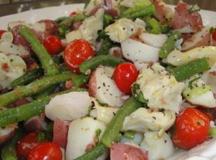 All Tossed Up Red Potato and Artichoke Salad Recipe