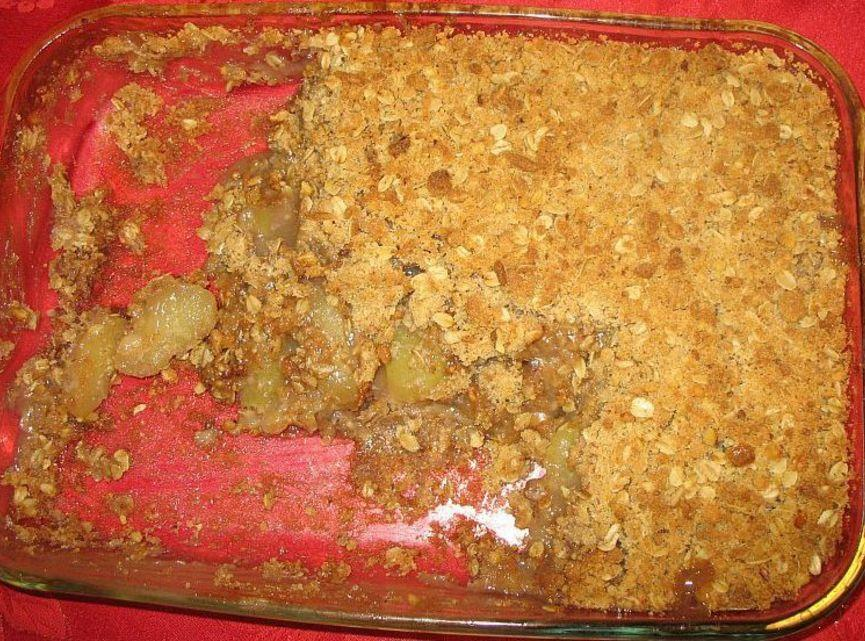 simple apple crumble recipe. Black Bedroom Furniture Sets. Home Design Ideas