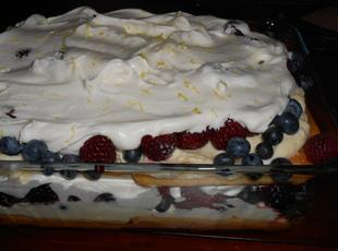 Lemon Berry Triffle Recipe
