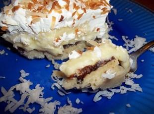 ~ Coconut Cream Pie Bars ~