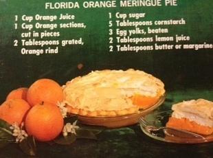 Florida Orange Meringue Pie Recipe
