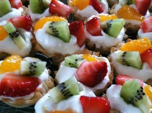Phyllo Fruit Tarts