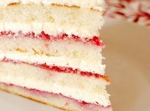 Raspberry Lemon Coconut Cake Recipe