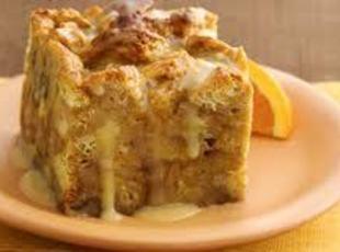Orange Breakfast Bread Pudding Recipe